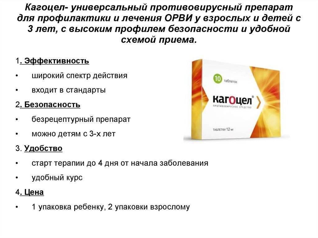 Кагоцел таблетки 12 мг 20 шт.