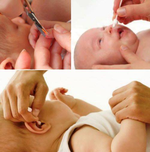 Гигиена малыша – как правильно чистить уши ребенку