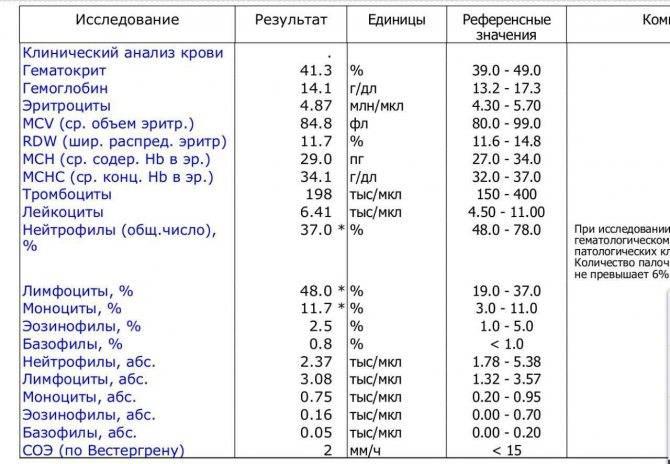 Базофилы в крови повышены, понижены, норма у женщин, взрослых, ребенка по возрасту