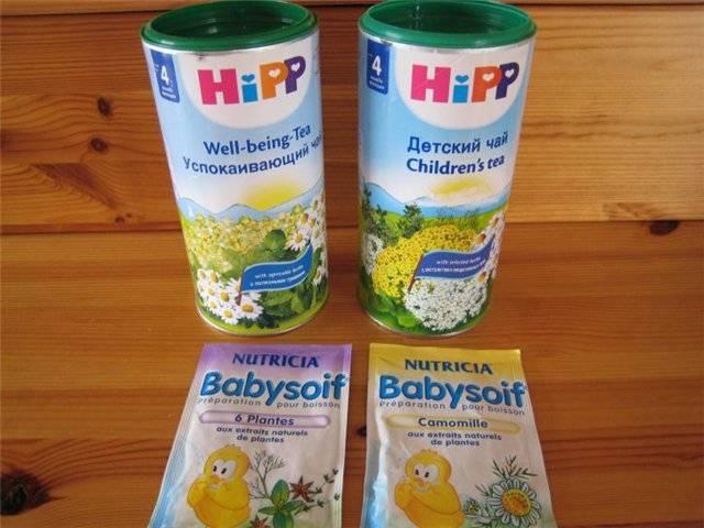 С какого возраста можно давать ребенку чай?