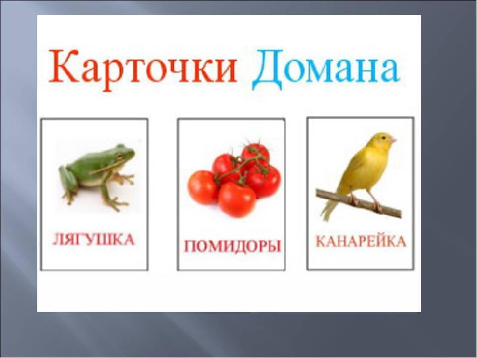 Методика раннего развития гленна домана