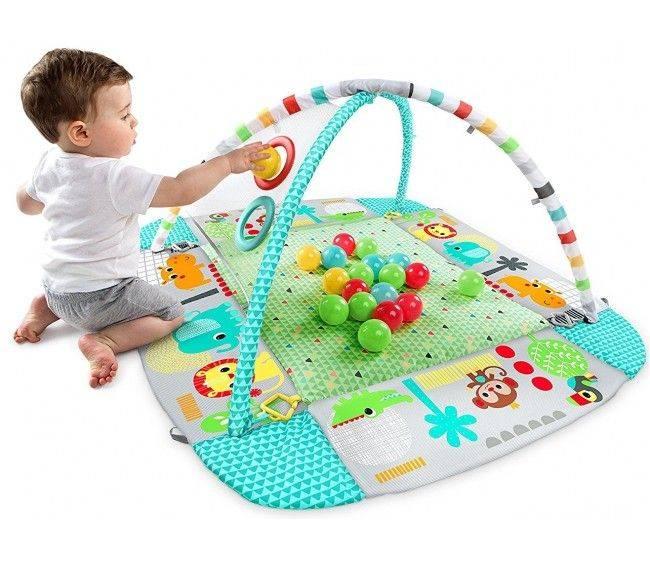 Развивающий коврик для детей: как выбрать или сделать
