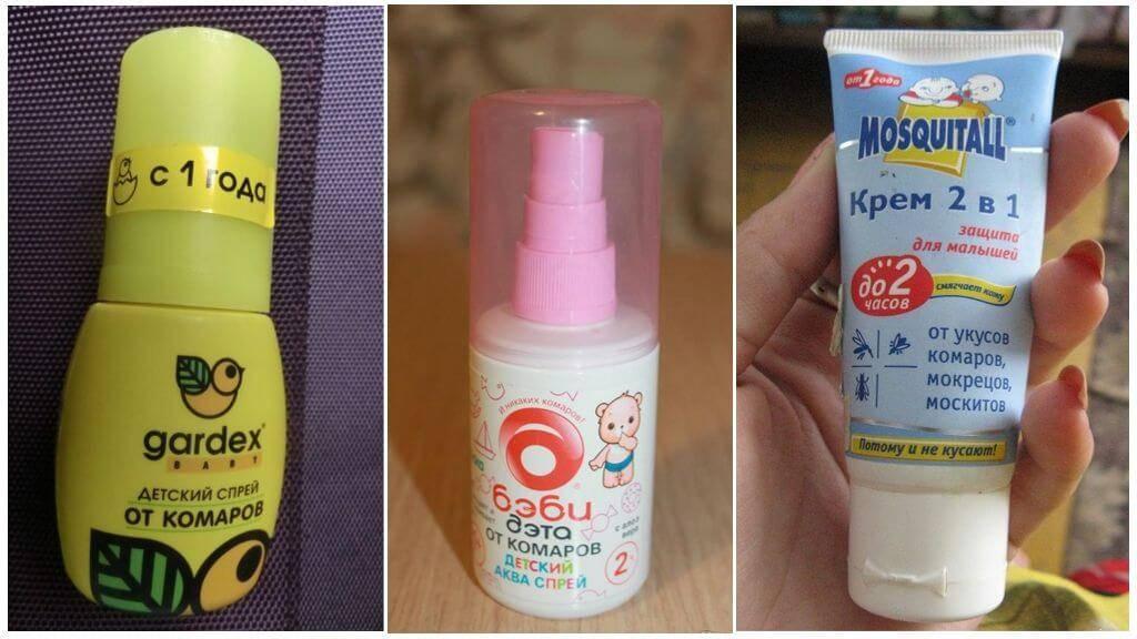 Как защитить ребенка от комаров и мошек