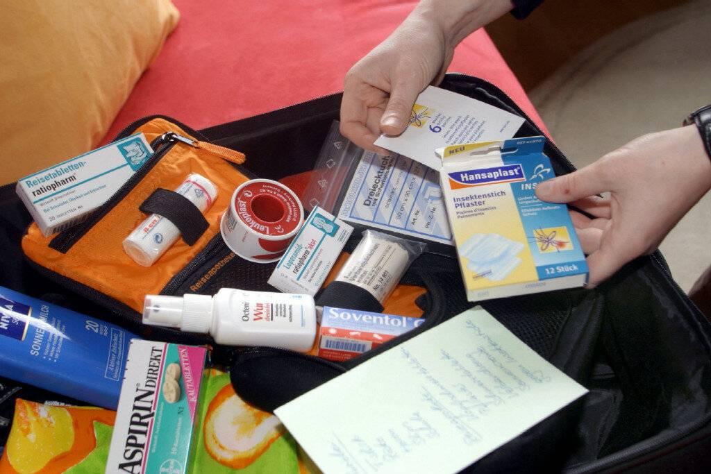 Аптечка в отпуск на море
