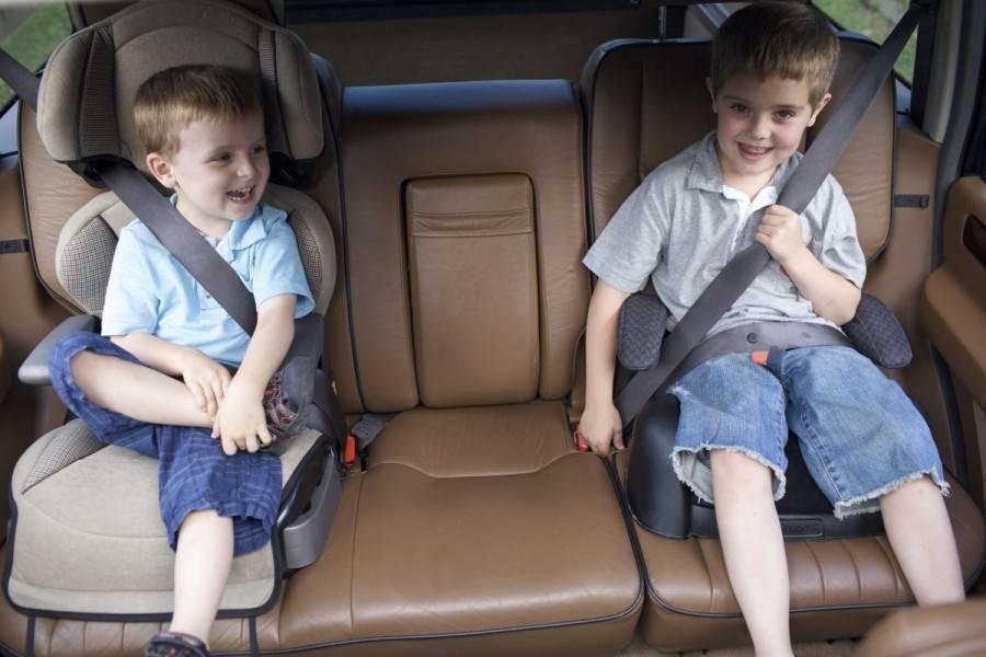 С какого возраста можно применять автомобильный бустер?