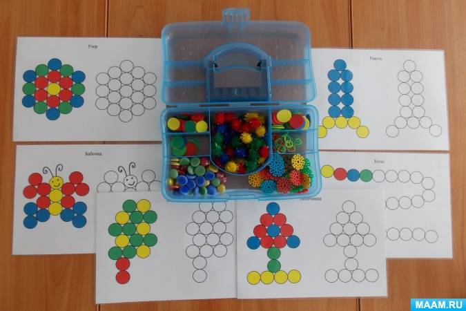 Дидактические игры на сенсорное развитие детей 3–4 лет