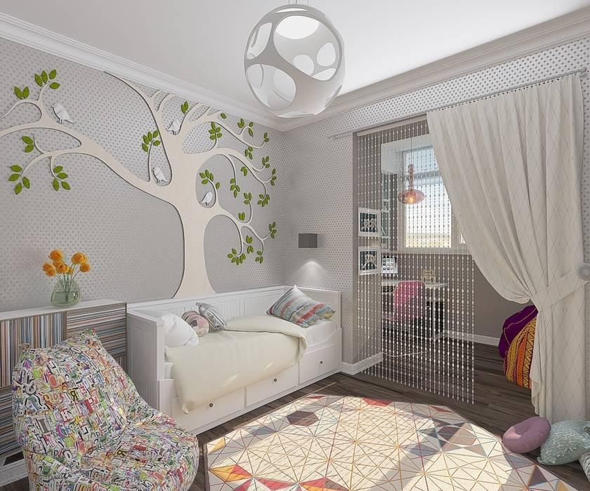 Дизайн и планировка однокомнатной квартиры для семьи с ребенком