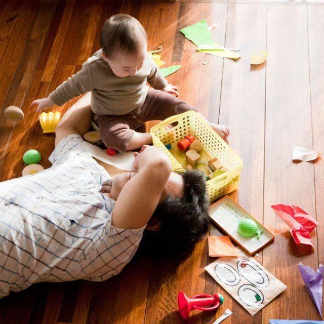 Развитие ребенка в 2 месяца: игры и упражнения