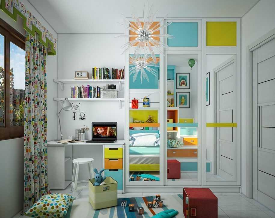 Дизайн подростковой комнаты  икеа: интересные образы