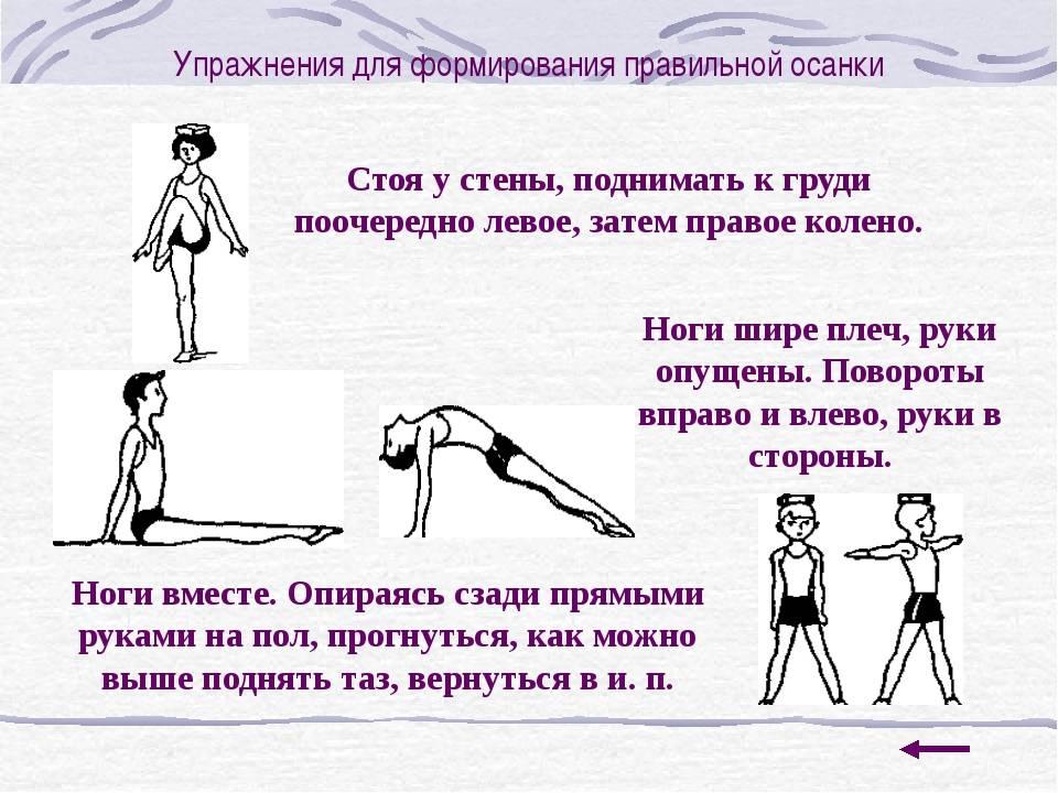 Гимнастика для исправления осанки с тренером — 90 минут