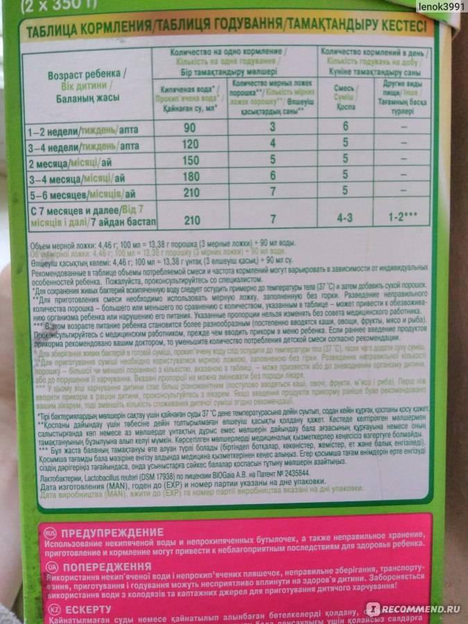 Детское питание «nestogen-1» с рождения: как развести смесь - здоровая жизнь