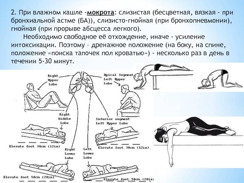 Массаж при бронхите и пневмонии — добрый доктор