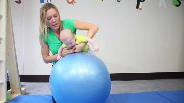 Комплекс упражнений для детей от 2 недель до3месяцев