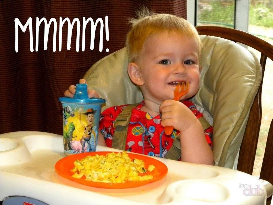 Омлет для ребенка от 1 года: рецепт