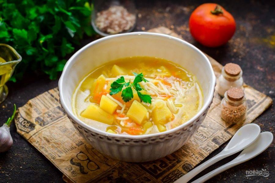 Молочный суп для ребенка с вермишелью: рецепт.