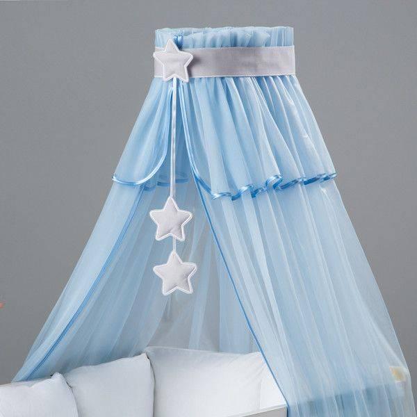 Балдахин на детскую кроватку: как сшить своими руками