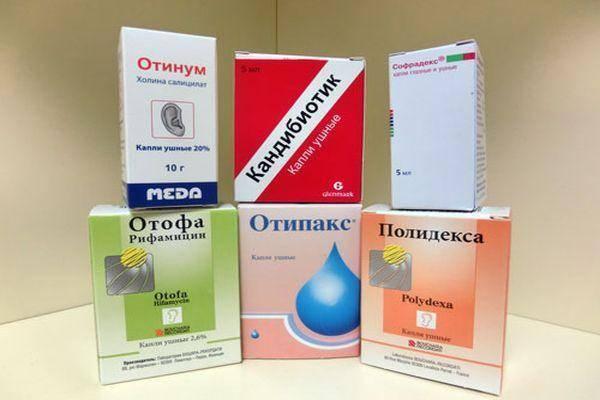 Ушные капли для детей при отите, боли в ухе и воспалении: лекарства с антибиотиком
