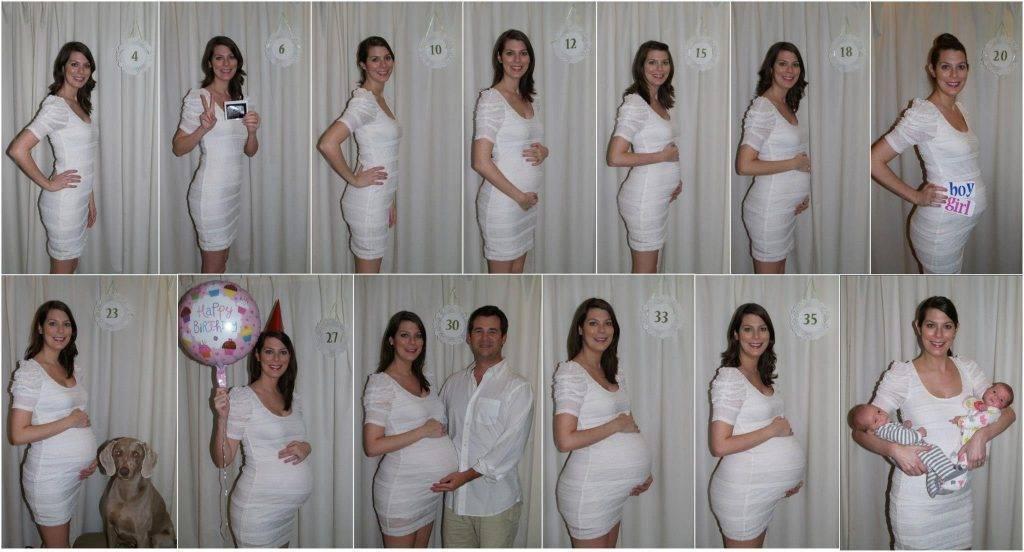 Что происходит с мамой и ребенком на 8 месяце беременности, как выглядит живот на этом сроке?