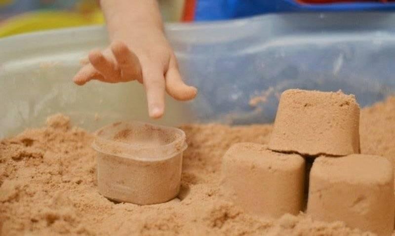Кинетический песок - что это такое?