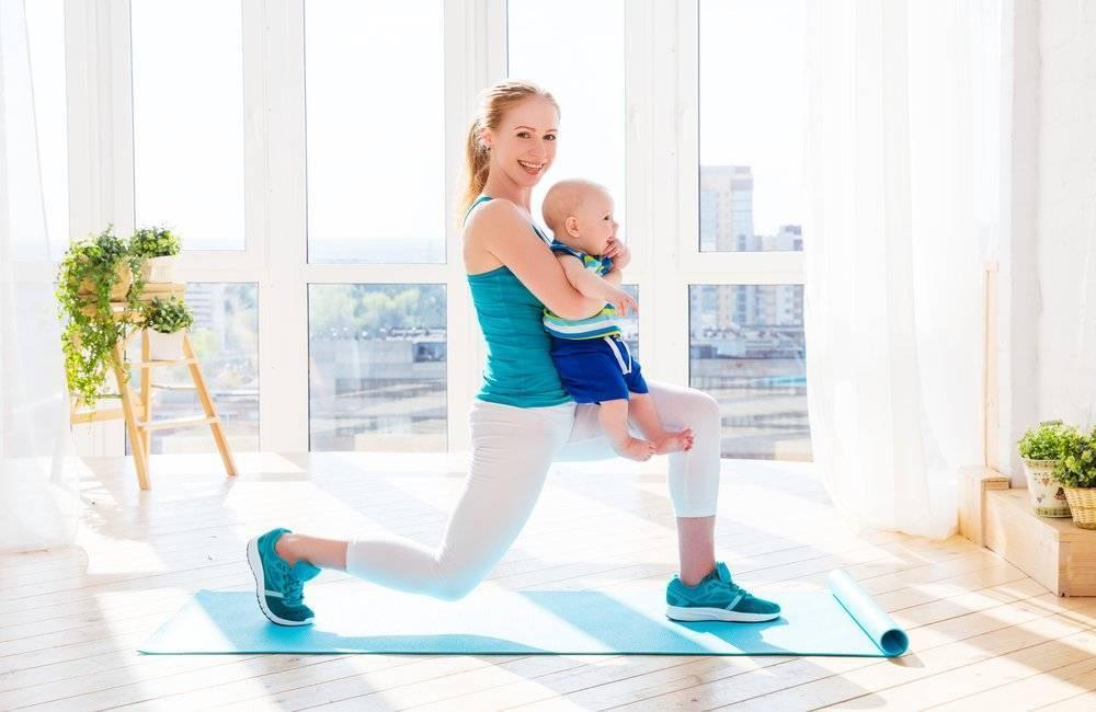 Можно ли кормящей маме заниматься спортом