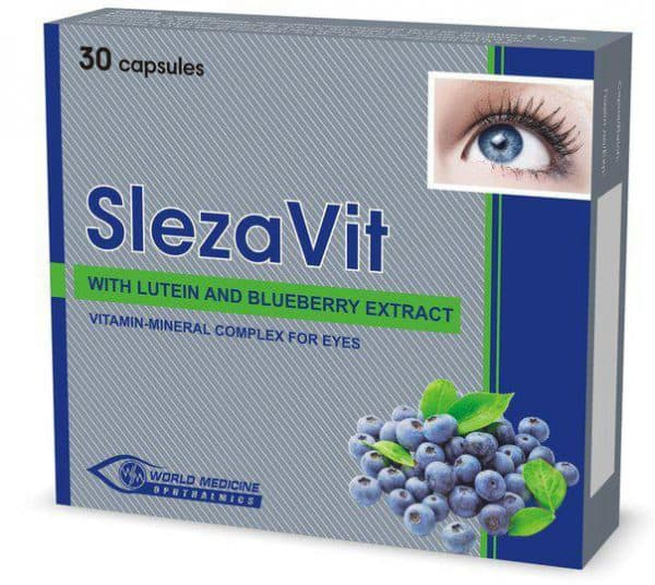 Рекомендованные витамины для глаз при близорукости