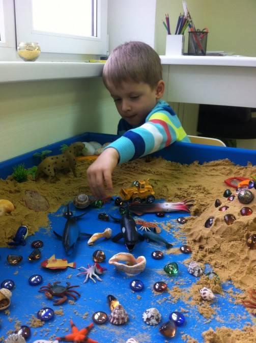 Песочная терапия для детей дошкольного возраста — просто и эффективно!