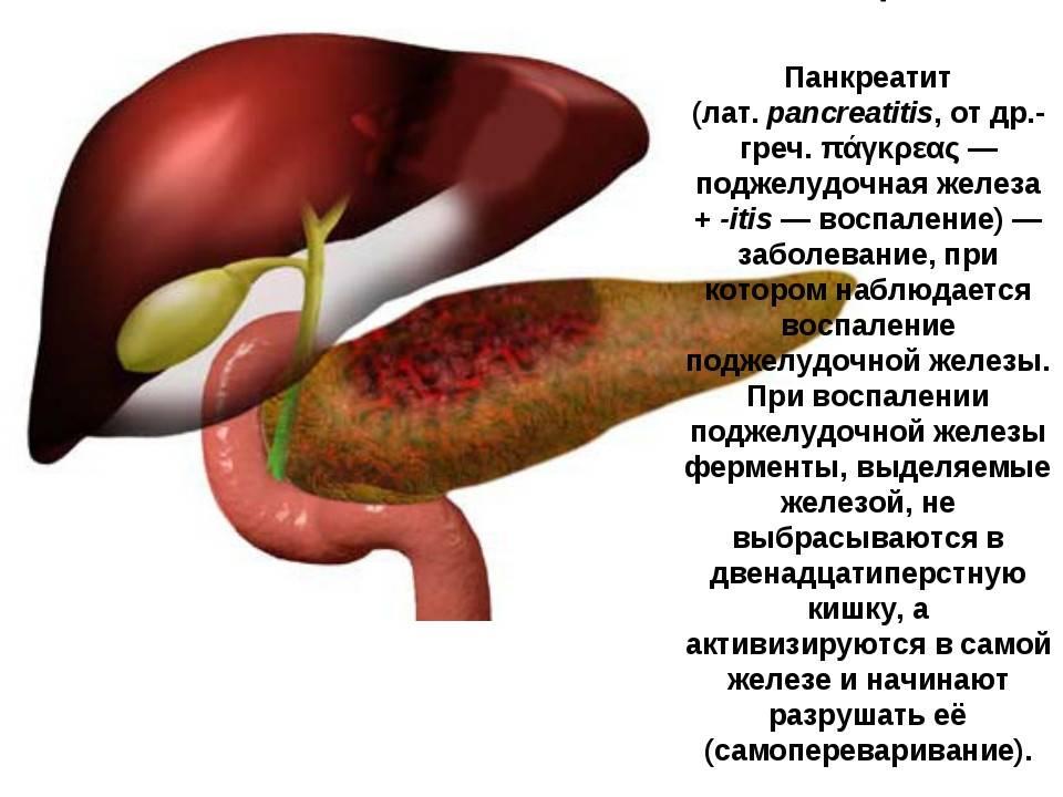Лечение панкреатита, гастроскопия поджелудочной железы