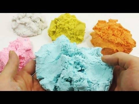 Кинетический песок своими руками – 7 простых пошаговых рецептов!
