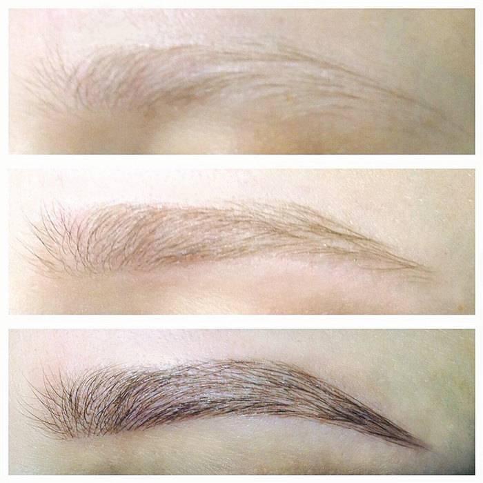 Можно ли красить брови при грудном вскармливании: хна, татуаж, микроблейдинг