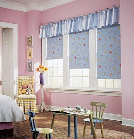 Шторы для детской комнаты девочек (77 фото): идеи готовых занавесок и тюли в спальню до подоконника
