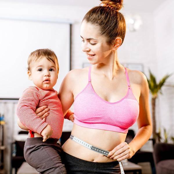 Как похудеть после родов – самые быстрые способы для кормящих и некормящих мам