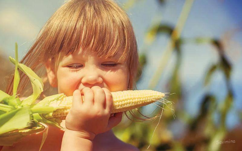 С какого возраста можно давать ребенку кукурузу консервированную
