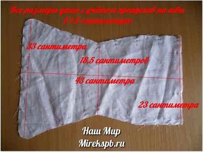 Марлевые подгузники для новорожденных - размеры по возрасту и применение