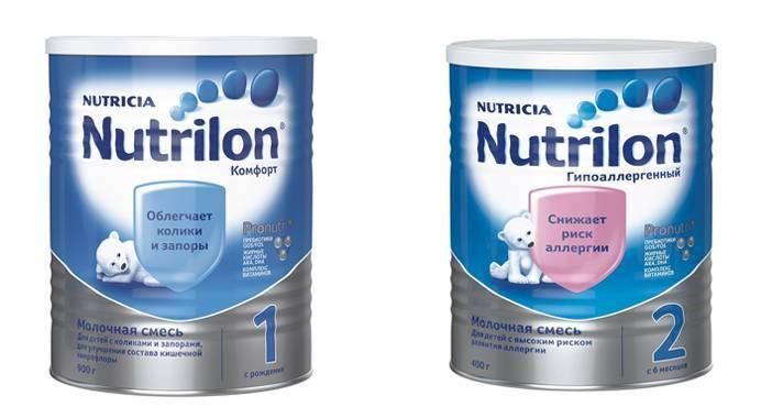 Отличие нутрилон пепти аллергия от нутрилон пепти гастро