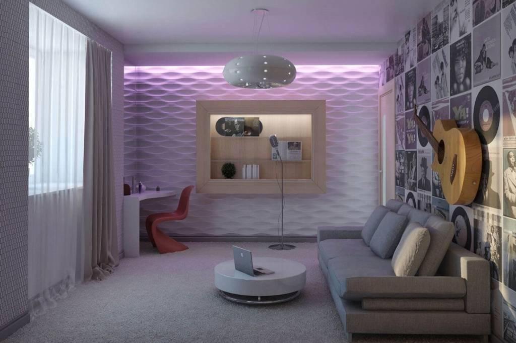 Создаем комнату для подростка девочки