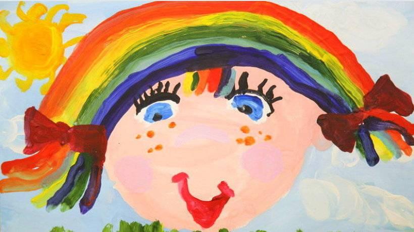 О цветах детского рисунка
