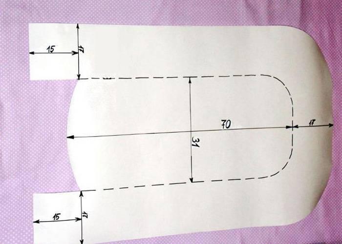 Как сшить бортики в детскую кроватку для новорожденных своими руками: выкройки, размеры, схемы, фото