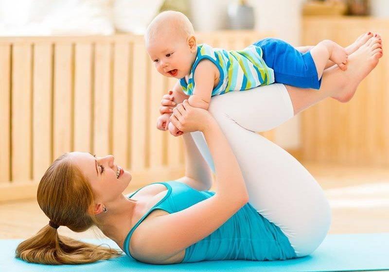 Можно ли заниматься спортом при грудном вскармливании кормящей маме