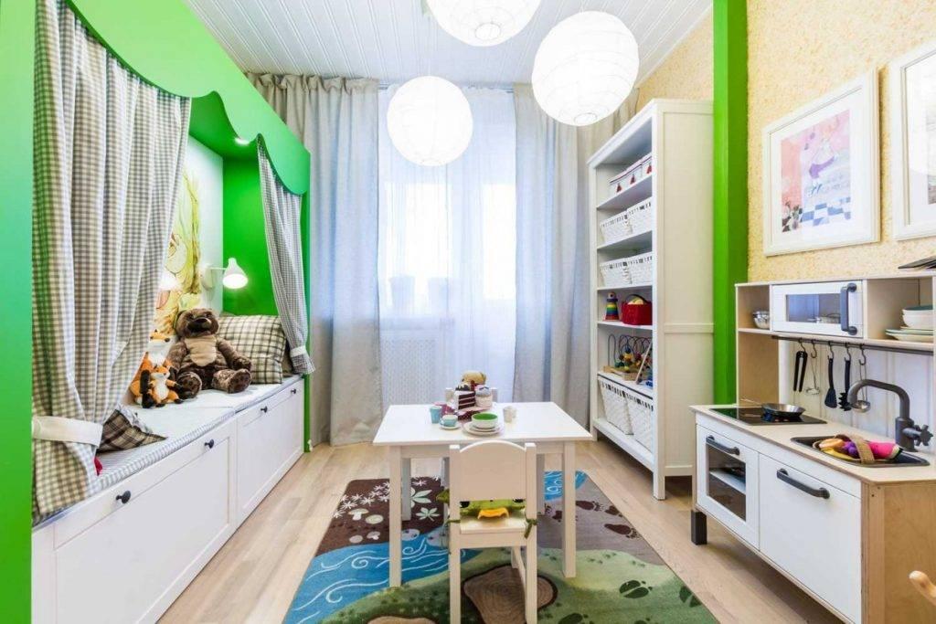 Детская комната 12 кв м (фото идеи для девочек и мальчиков)