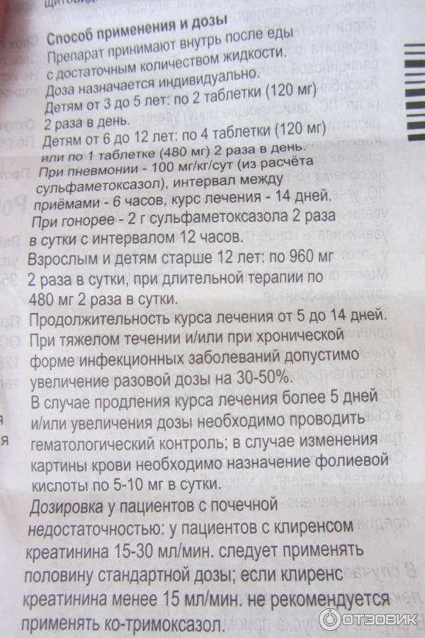 Бисептол таблетки 120 мг 20 шт.   (pabianice pharmaceutical works polfa) - купить в аптеке по цене 33 руб., инструкция по применению, описание, аналоги