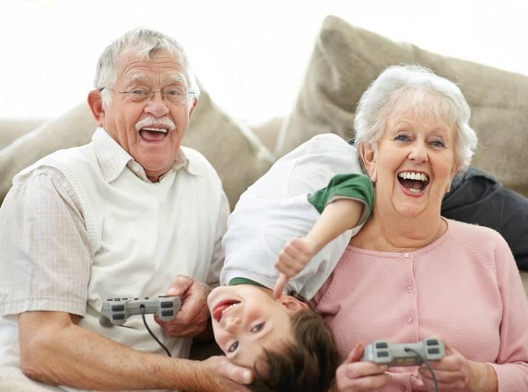 А какие бывают дедушки? - страна мам