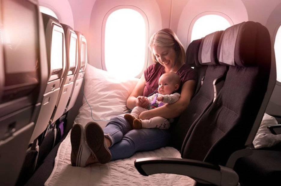 Перелет с грудным ребенком — особенности и правила перевозки