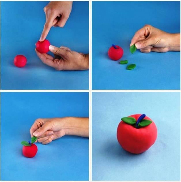 Интересные поделки из пластилина для детей - фото и видео простых поделок для детей разных возрастов