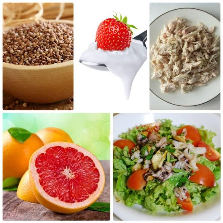 Меню белковой диеты на неделю и 20 полезных рецептов