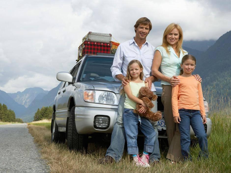 Путешествие на машине с ребенком