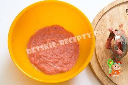 Топ - 7. мясные рецепты для детей до года.   здоровое питание
