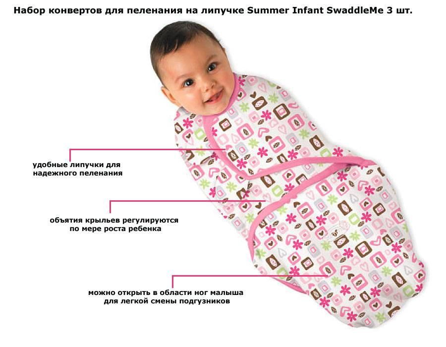 Размер пеленок для новорожденного: какой он должен быть