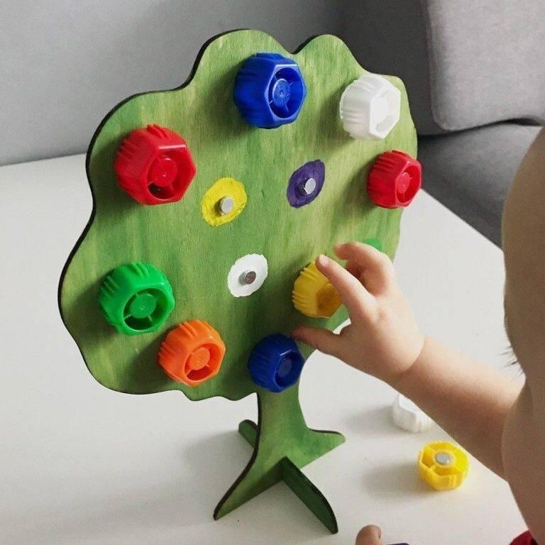 Развивающие игры для детей 2 лет - в домашних условиях, в детском саду