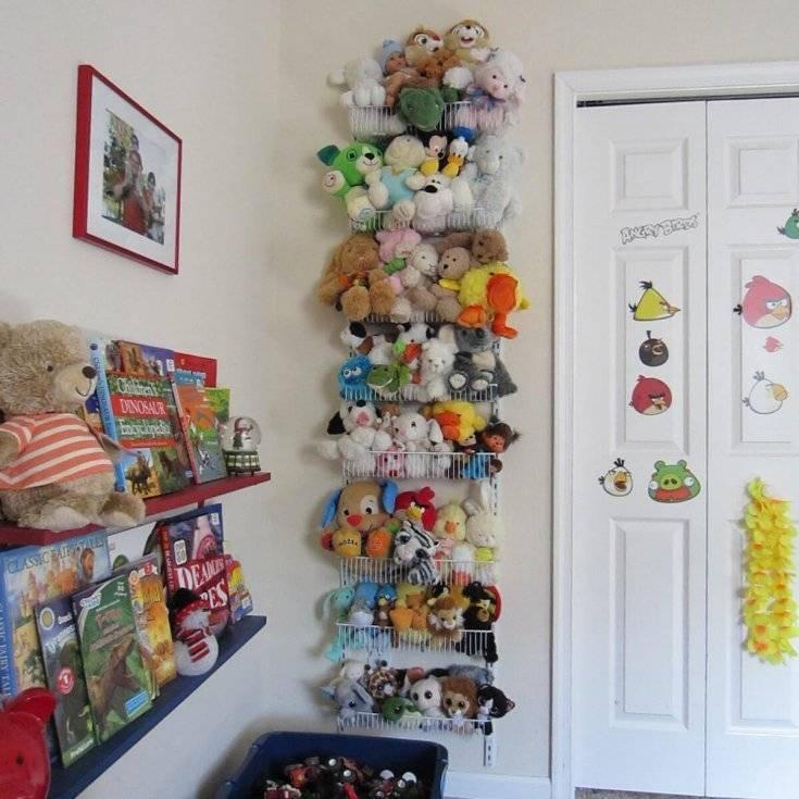 Хранение игрушек: идеи для детской комнаты   домфронт