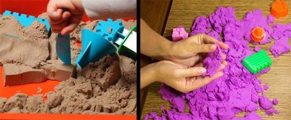 Как сделать кинетический песок своими руками| аналогий нет